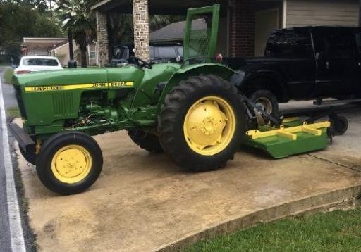 1985 John Deere 1050 Tractor 55 Farms