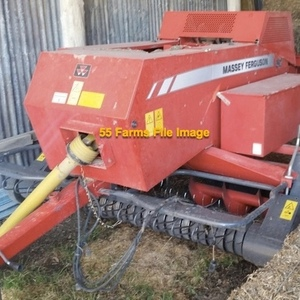 Medium baler   small square massey inline