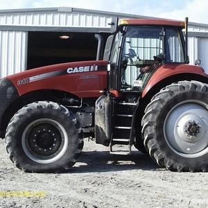 Medium case ih 340 tractor 1