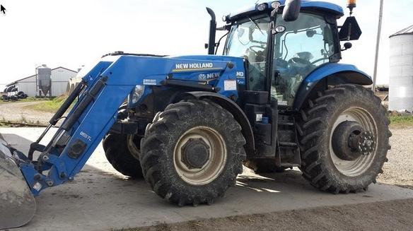 2011 New Holland T7 210 | 55 Farms