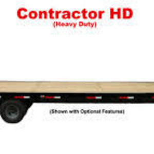 Medium flat bed trailer  25  custom