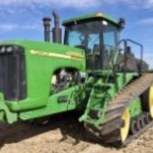 Medium john deere 9620t trac tractor