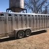 Thumb wilson livestock trailer