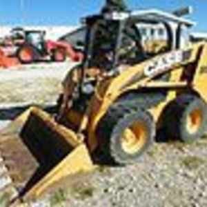 Medium mordt skid steer