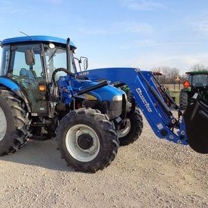 Medium martin s newholland tractor 1