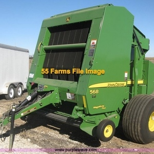 Medium baler   john deere 568
