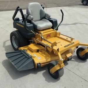Medium hustler riding mower 1