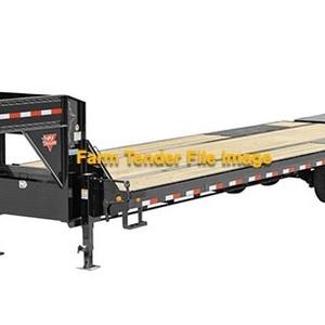 Medium trailer   gooseneck