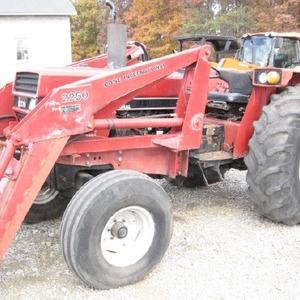 Medium case tractor loader 1