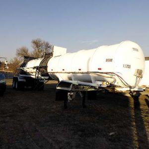 Medium tanker trailer