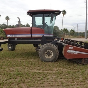 Medium macdon 9350 windrower 1