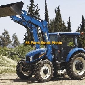 Medium tractor   nh 90hp with loader