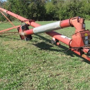 Medium shourds grain auger