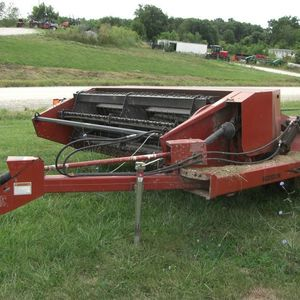 Medium hesston swather 2