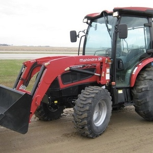 Medium mahindra 3550 hst tractor with loader