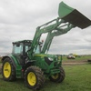 Thumb john deere 6521r tractor   loader