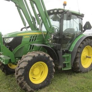 Medium john deere 6521r tractor   loader 2