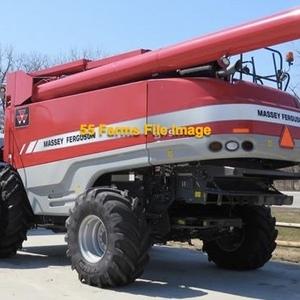 Medium combine   mf 9795