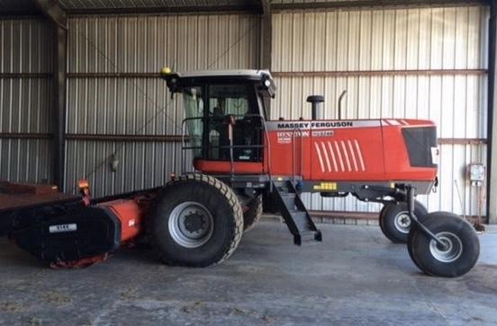 Massey Ferguson WR9740 Windrower | 55 Farms